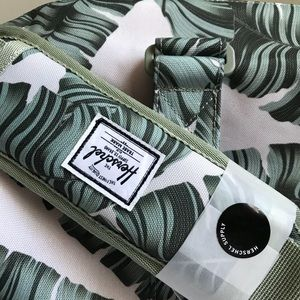 58dcd8b4cb3 Herschel Supply Company Bags - Herschel Silver Birch Palm Leaf Novel Duffle  Bag